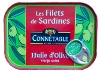 Sardine Fillets in Olive Oil and Lemon
