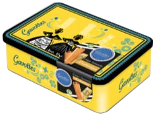 Gavottes Crepes Dentelles Yellow Bigouden Tin