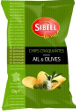 Sibell Garlic Olive Potato Chips